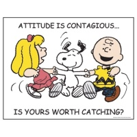 Attitudes Are Contagious - Is Yours Worth Catching?