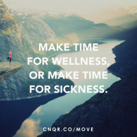 Make Time for Wellness or Be Forced to Take Time For Illness